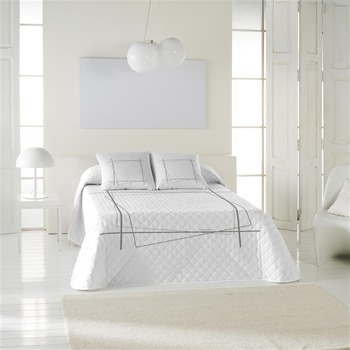 desquared bank jet de lit blanc et gris angel. Black Bedroom Furniture Sets. Home Design Ideas