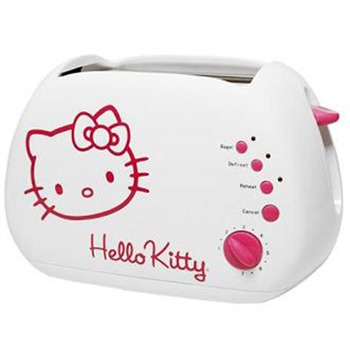 hello kitty grille pain blanc et rose hello kitty ref 193018 brandalley. Black Bedroom Furniture Sets. Home Design Ideas