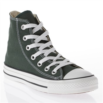 Converse Men's Pine Green Canvas High Top Trainers