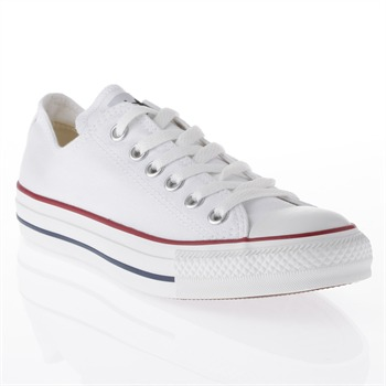 Converse Men's White Canvas Oxford Trainers