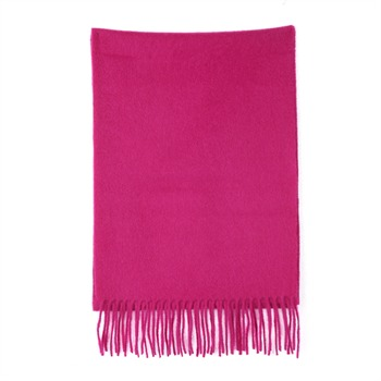 Sam accessories Echarpe en cachemire fuschia