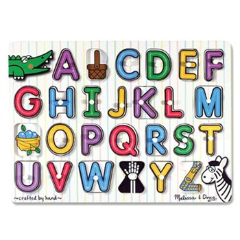 Melissa and Doug See-Inside Alphabet Peg