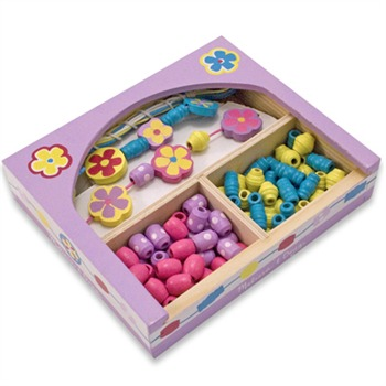 Melissa and Doug Flower Power Bead Set