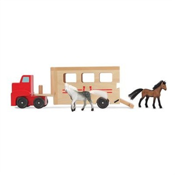 Melissa and Doug Wooden Horse Carrier