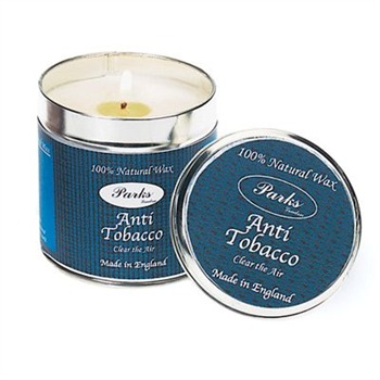 Parks London Anti Tobacco Scented Candle in a Tin