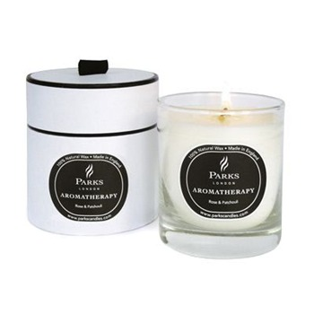 Parks London Rose/Patchouli Aromatherapy Candle