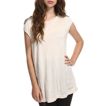 Miss Sixty Cream Iya Embellished Tunic
