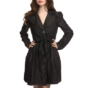 Miss Sixty Black Trinity Raincoat