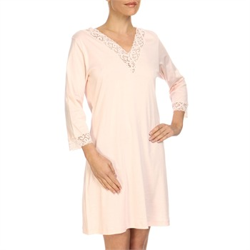 Hanro Wild Rose Moments 3/4 Sleeve Nightdress
