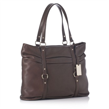 Furla Brown Top Handle Shopper
