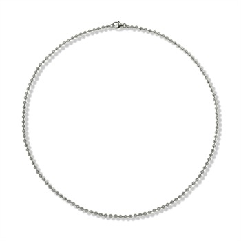 Basics Silver Silver High Gloss Necklace
