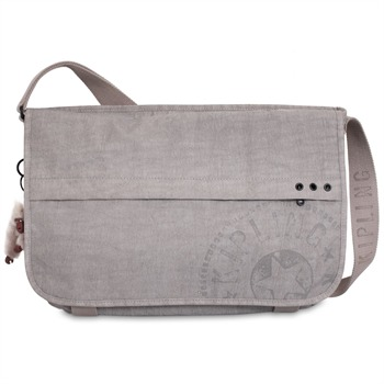 Kipling Beige New Trivor Cross Body Bag
