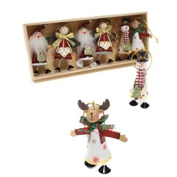 Heaven Sends Red/Green/Multi Christmas Character Gift Set