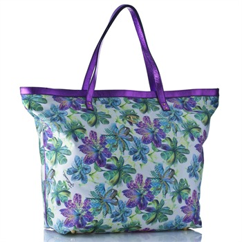 Just Cavalli Multicoloured Floral Shopper