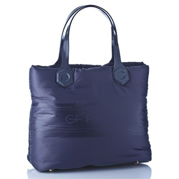 GF Ferre Grey Padded Shopper