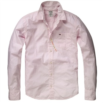 Hilfiger Denim Pink Tulsa Cotton Shirt