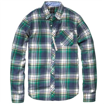 Hilfiger Denim Blue/Green Taz Checked Shirt