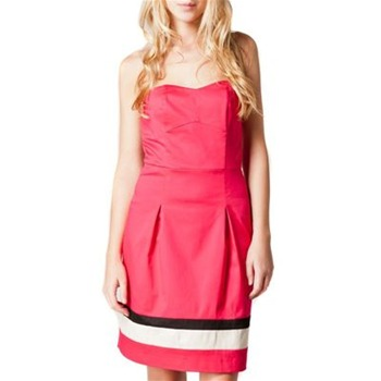 Kookai Red Bustier Dress