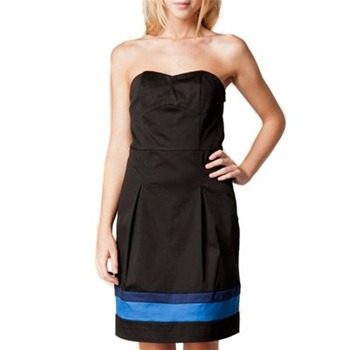 Kookai Black Bustier Dress