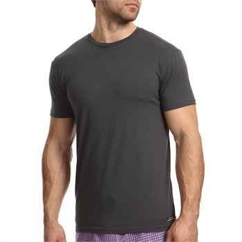 Calvin Klein Grey Basic Cotton Stretch T-Shirt