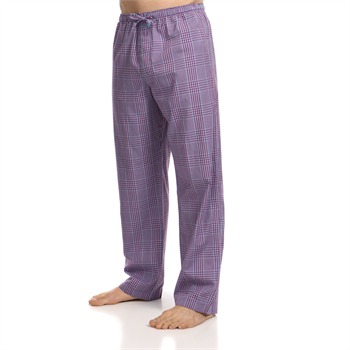Calvin Klein Blue/Red Check Print Pyjama Pants 32