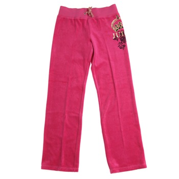Juicy Couture Cerise Metallic Logo Tracksuit Pants 8-14 Years