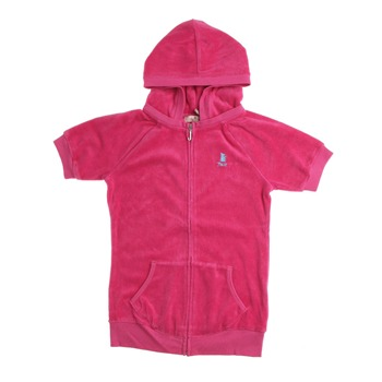 Juicy Couture Cerise Terry Hooded Top 7-14 Years