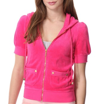 Juicy Couture Neon Flash Puff Sleeve Top