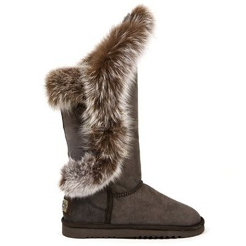 Australia Luxe Collective Brown Nordic Angel Tall Suede Boots