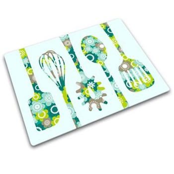Joseph Joseph Green/Blue Flower Utensils Worktop Saver