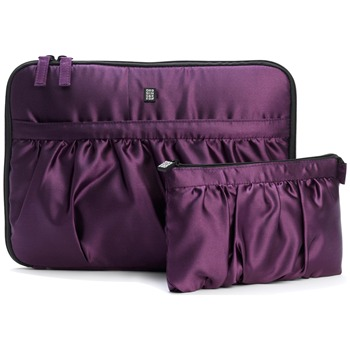 Ordning and Reda Aubergine Ebba Toiletries Bag