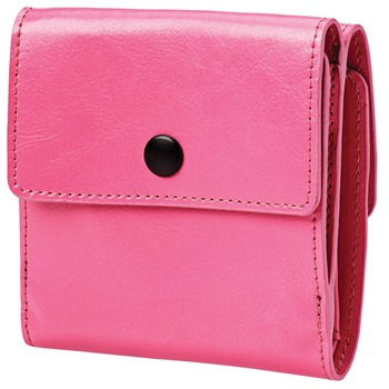 Ordning and Reda Pink Leather Mika Wallet