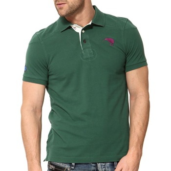 Canterbury Green Ludy Cotton Polo Shirt