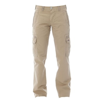 Napapijri Beige Cotton Cargo Trousers