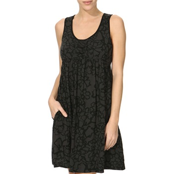 DKNY Dark Grey Printed Chemise Dress