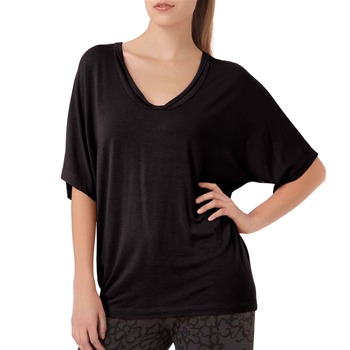 DKNY Black Loose Fitted Top