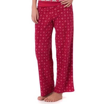 DKNY Red Brushed Printed Pyjama Trousers 31