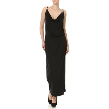 Miss Sixty Black Draped Maxi Dress
