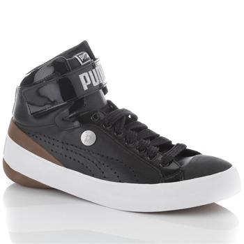 Puma Mihara Yasuhiro Black White My 49 Leather Trainers on PopScreen 3beb522ad