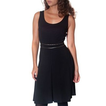 Kookai Black Sleeveless Panelled Dress