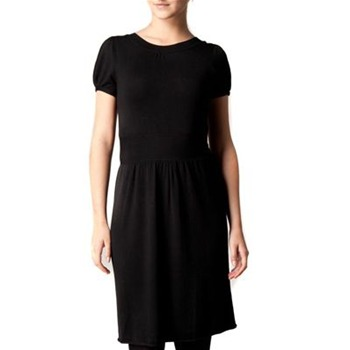 Kookai Black Bow Back Knitted Dress