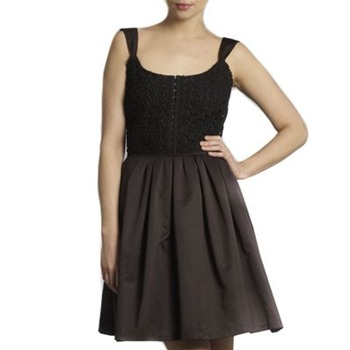 Kookai Black Embroidered Sundress