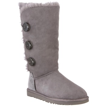 Ugg Australia Grey Bailey Triplet Suede Boots