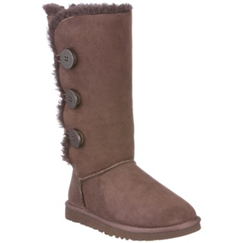 Ugg Australia Brown Bailey Triplet Suede Boots