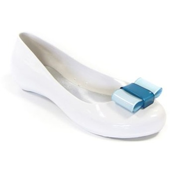 Ma Cri White/Blue Nastro Pumps