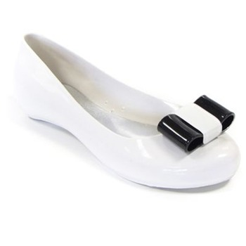 Ma Cri White/Black Nastro Pumps