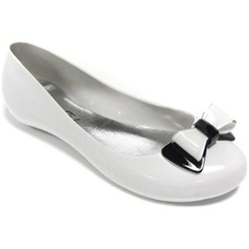 Ma Cri White/Black Papillon Jelly Pumps