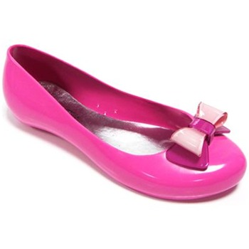 Ma Cri Fuchsia/Pink Papillon Jelly Pumps