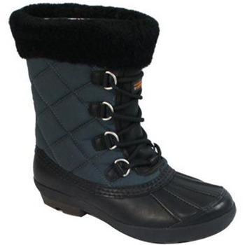 Ugg Australia Black Newberry Quilted Boots