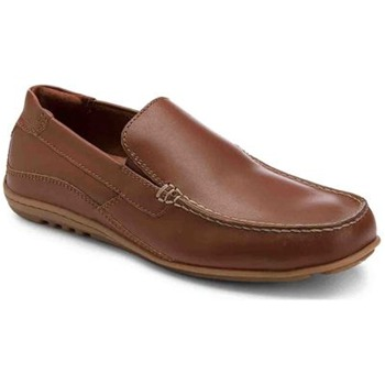 Rockport Brown Leather Cape Noble Shoes